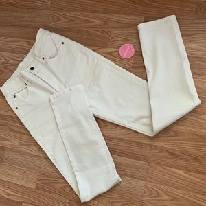 Cheap Monday Second Skin washed white jeans.30x32